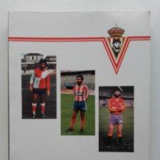 Coleccionismo deportivo: JIMENEZ - LAUREANO TUERO DIAZ - PEÑA SPORTINGUISTA JIMENEZ - SPORTING DE GIJON - 1993 - FUTBOL. Lote 75493007