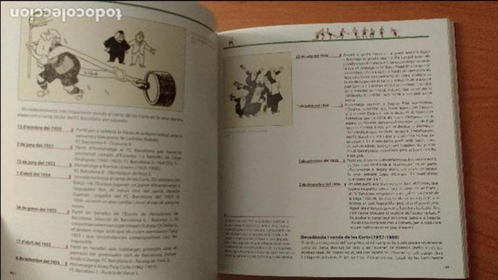 Coleccionismo deportivo: LIBRO LES CORTS I EL BARÇA 85 anys d'història compartida- ESTADIO BARCELONA - FUTBOL - EN CATALAN - Foto 4 - 53488992