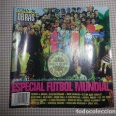 Coleccionismo deportivo: REVISTA ZONA DE OBRAS ESPECIAL COLECCIONISTAS FUTBOL VALDANO MANU CHAO MALDINI HOOLIGANS. Lote 76512223