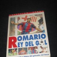 Coleccionismo deportivo: ROMARIO REY DEL GOL. Lote 76862727
