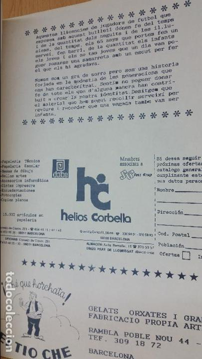 Coleccionismo deportivo: LIBRO E HISTORIA CLUB ESPORTIU MONOPOL 1928-1992 - Foto 5 - 78023789