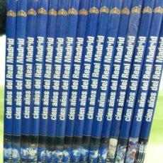 Coleccionismo deportivo - COLECCIÓN COMPLETA CIEN AÑOS DEL REAL MADRID 16 TOMOS - DIARIO AS - ENCICLOPEDIA DEL R. MADRID - 78507269