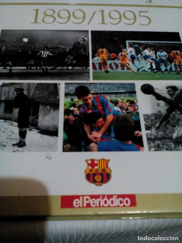 C3___LIBRO ___EL LIBRO DE ORO DEL BARÇA,1899/1995_ MIDE 31X23X3CM/TIENE 247 PAGINAS (Coleccionismo Deportivo - Libros de Fútbol)
