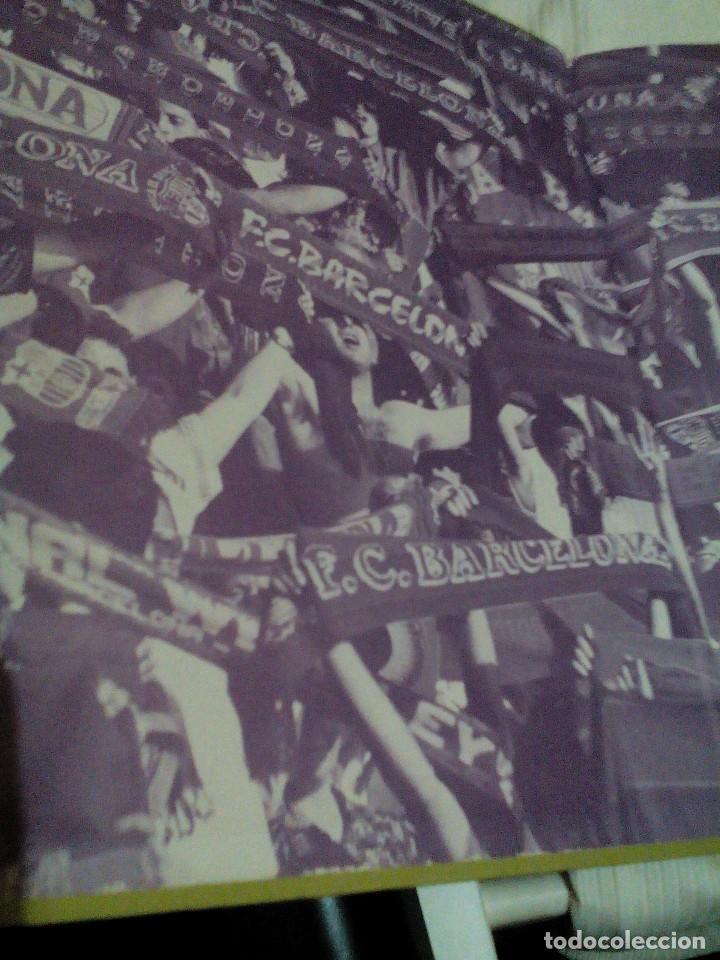 Coleccionismo deportivo: C3___libro ___El LIBRO DE ORO DEL BARÇA,1899/1995_ mide 31x23x3cm/tiene 247 paginas - Foto 3 - 78688769