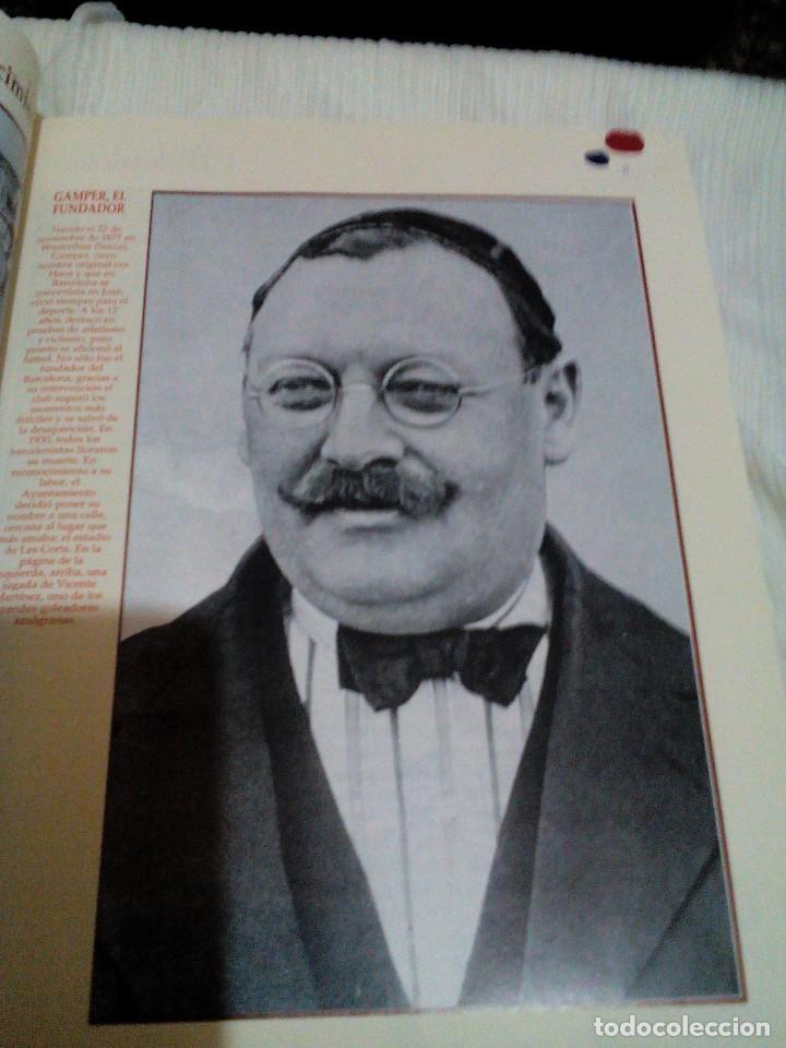 Coleccionismo deportivo: C3___libro ___El LIBRO DE ORO DEL BARÇA,1899/1995_ mide 31x23x3cm/tiene 247 paginas - Foto 6 - 78688769