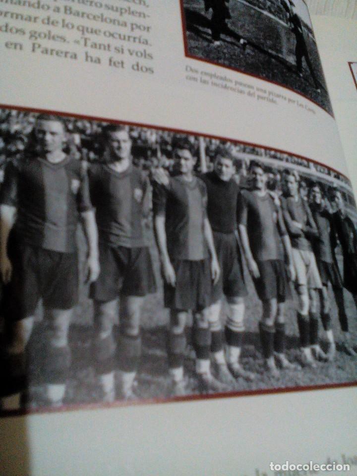 Coleccionismo deportivo: C3___libro ___El LIBRO DE ORO DEL BARÇA,1899/1995_ mide 31x23x3cm/tiene 247 paginas - Foto 8 - 78688769