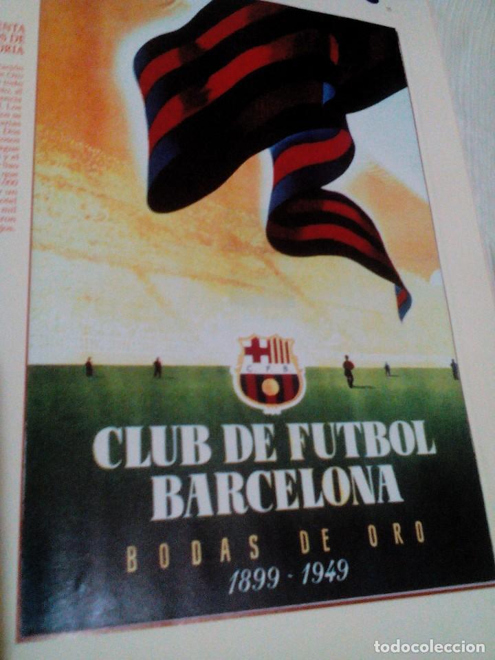 Coleccionismo deportivo: C3___libro ___El LIBRO DE ORO DEL BARÇA,1899/1995_ mide 31x23x3cm/tiene 247 paginas - Foto 9 - 78688769