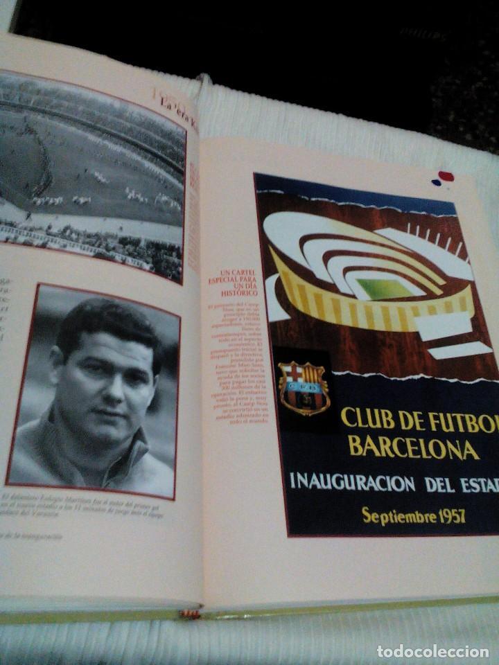 Coleccionismo deportivo: C3___libro ___El LIBRO DE ORO DEL BARÇA,1899/1995_ mide 31x23x3cm/tiene 247 paginas - Foto 12 - 78688769