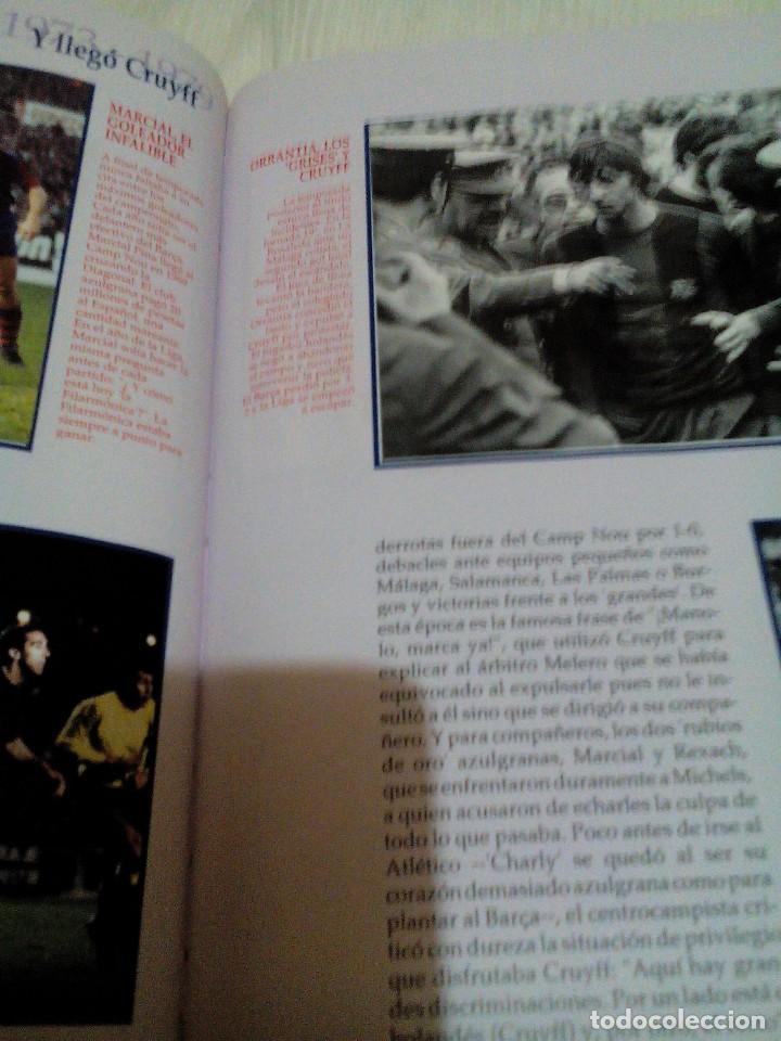 Coleccionismo deportivo: C3___libro ___El LIBRO DE ORO DEL BARÇA,1899/1995_ mide 31x23x3cm/tiene 247 paginas - Foto 15 - 78688769