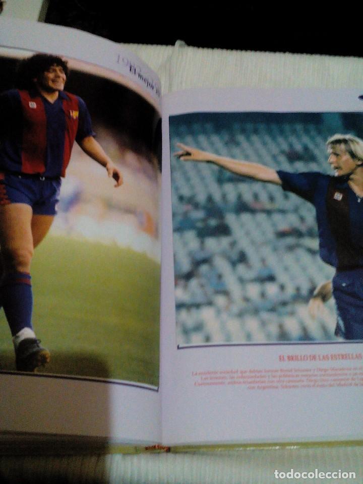 Coleccionismo deportivo: C3___libro ___El LIBRO DE ORO DEL BARÇA,1899/1995_ mide 31x23x3cm/tiene 247 paginas - Foto 17 - 78688769