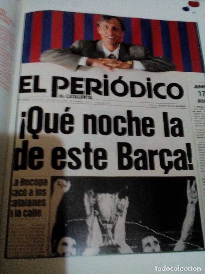 Coleccionismo deportivo: C3___libro ___El LIBRO DE ORO DEL BARÇA,1899/1995_ mide 31x23x3cm/tiene 247 paginas - Foto 18 - 78688769