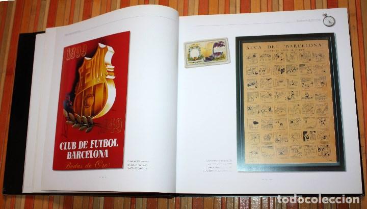 Coleccionismo deportivo: BARÇA CENTENARI D'EMOCIONS LLIBRE OFICIAL CENTENARI FUTBOL CLUB BARCELONA 1899 - 1999 DESCATALOGADO - Foto 9 - 147558981