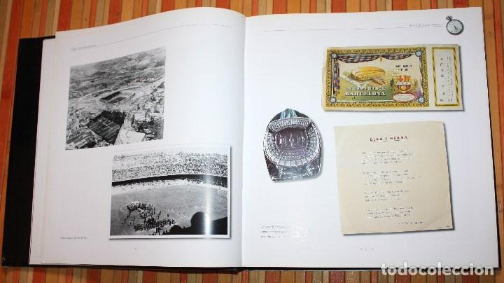 Coleccionismo deportivo: BARÇA CENTENARI D'EMOCIONS LLIBRE OFICIAL CENTENARI FUTBOL CLUB BARCELONA 1899 - 1999 DESCATALOGADO - Foto 10 - 147558981