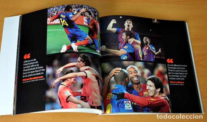 Coleccionismo deportivo: LIBRO DE FOTOGRAFÍAS: LEO MESSI - EL MEJOR - Edita: LA CAIXA / EL PERIÓDICO - 1ª EDICIÓN, enero 2013 - Foto 3 - 79328517