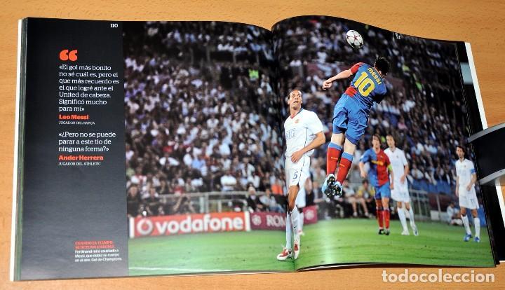 Coleccionismo deportivo: LIBRO DE FOTOGRAFÍAS: LEO MESSI - EL MEJOR - Edita: LA CAIXA / EL PERIÓDICO - 1ª EDICIÓN, enero 2013 - Foto 6 - 79328517