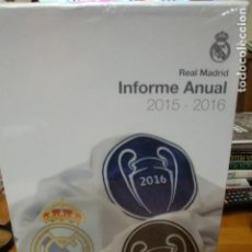 Coleccionismo deportivo: REAL MADRID INFORME ANUAL 2015-2016. Lote 79571657
