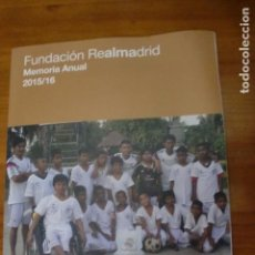 Coleccionismo deportivo: FUNDACION REAL MADRID 2015-16. Lote 79571969