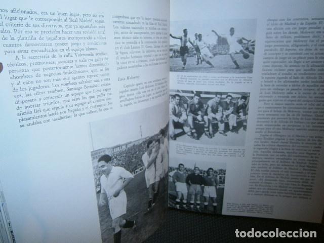 Coleccionismo deportivo: Muniaín, José Luis: 5000 goles blancos. Historia del Real Madrid y su tiempo - Foto 4 - 80148241