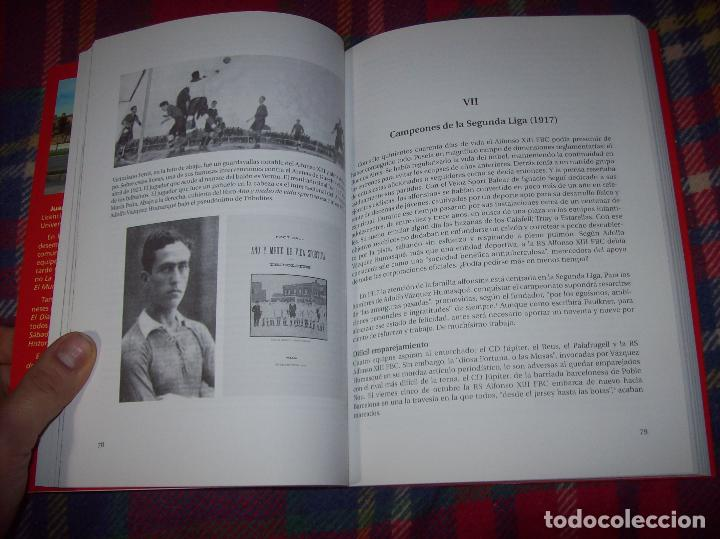 Coleccionismo deportivo: R. S. ALFONSO XIII . LA CARA OCULTA DEL REAL CD MALLORCA (1916-1931). JUAN C. PASAMONTES. 2010. - Foto 6 - 155354854