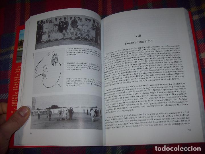 Coleccionismo deportivo: R. S. ALFONSO XIII . LA CARA OCULTA DEL REAL CD MALLORCA (1916-1931). JUAN C. PASAMONTES. 2010. - Foto 7 - 155354854