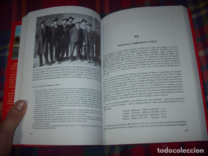 Coleccionismo deportivo: R. S. ALFONSO XIII . LA CARA OCULTA DEL REAL CD MALLORCA (1916-1931). JUAN C. PASAMONTES. 2010. - Foto 8 - 155354854