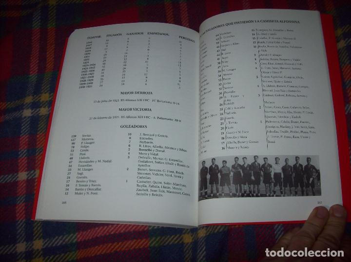 Coleccionismo deportivo: R. S. ALFONSO XIII . LA CARA OCULTA DEL REAL CD MALLORCA (1916-1931). JUAN C. PASAMONTES. 2010. - Foto 16 - 223646276