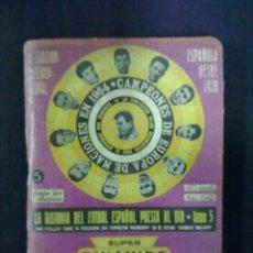 Coleccionismo deportivo: SUPERDINAMICO 1975 1976. Lote 80191205