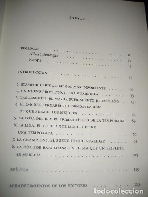 Coleccionismo deportivo: LIBRO FUTBOL. ANDRES INIESTA. UN AÑO EN EL PARAISO. MI DIARIO DEL TRIPLETE. BARÇA - Foto 2 - 80271429