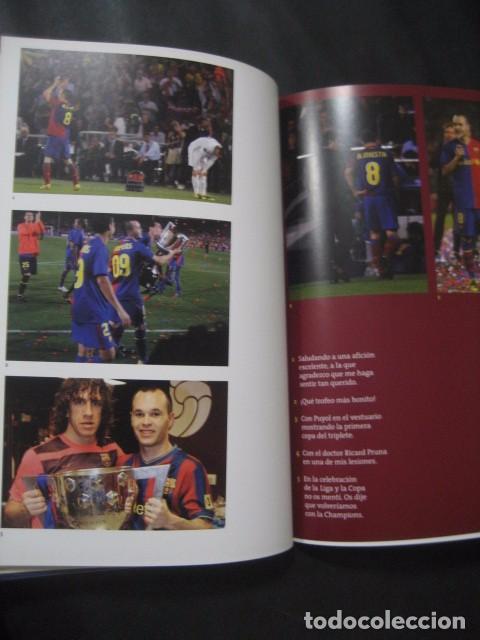 Coleccionismo deportivo: LIBRO FUTBOL. ANDRES INIESTA. UN AÑO EN EL PARAISO. MI DIARIO DEL TRIPLETE. BARÇA - Foto 5 - 80271429