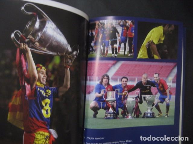 Coleccionismo deportivo: LIBRO FUTBOL. ANDRES INIESTA. UN AÑO EN EL PARAISO. MI DIARIO DEL TRIPLETE. BARÇA - Foto 7 - 80271429