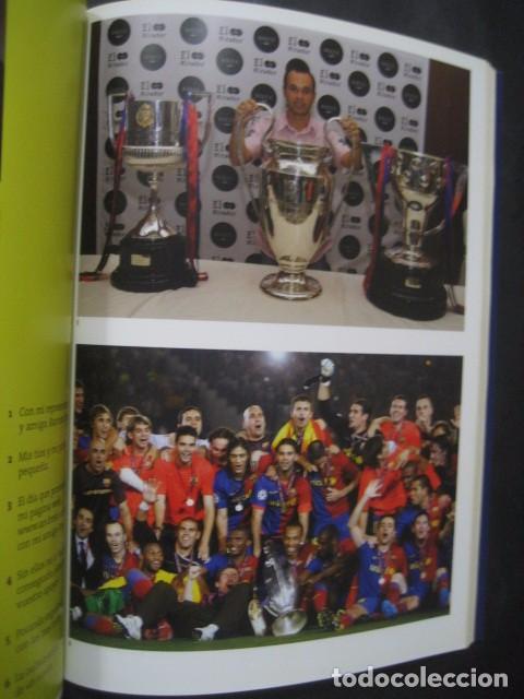 Coleccionismo deportivo: LIBRO FUTBOL. ANDRES INIESTA. UN AÑO EN EL PARAISO. MI DIARIO DEL TRIPLETE. BARÇA - Foto 8 - 80271429