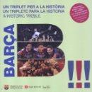 Coleccionismo deportivo: BARCA: UN TRIPLET PER A LA HISTORIA - EDITORIAL ANGLE, 2015 (PRECINTADO). Lote 104075986