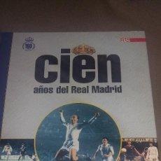 Coleccionismo deportivo: CIEN AÑOS DEL REAL MADRID. TOMO 1: 100 MEJORES JUGADORES ( I ) REF. 090. Lote 82011760