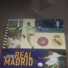 Coleccionismo deportivo: HISTORIA GRÁFICA DEL REAL MADRID COMPLETO 1997 CON TODAS LAS LAMINAS REF. 091. Lote 82012160