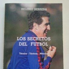 Coleccionismo deportivo: LOS SECRETOS DEL FUTBOL - HELENIO HERRERA - BARÇA - FC BARCELONA. Lote 82206856