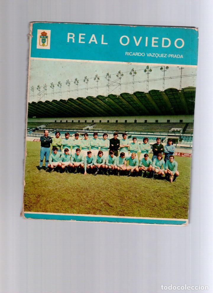 REAL OVIEDO RICARDO VÁZQUEZ-PRADA (Coleccionismo Deportivo - Libros de Fútbol)