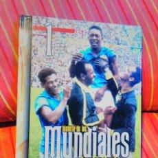 Coleccionismo deportivo: AS - HISTORIA DE LOS MUNDIALES DE FÚTBOL 1 - URUGUAY ITALIA FRANCIA BRASIL SUIZA SUECIA CHILE.SOCCER. Lote 144282065