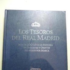 Coleccionismo deportivo: LOS TESOROS DEL REAL MADRID - MARCA. Lote 84189992