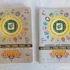 Coleccionismo deportivo: LA HISTORIA DEL FÚTBOL ESPAÑOL PUESTA AL DÍA Nº 25 + ÍNDICE - DINÁMICO 1995-1996.. Lote 85415292