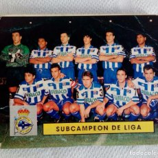Coleccionismo deportivo: CALENDARIO DE LAS CATEGORÍAS NACIONALES - DINÁMICO 1994-1995.. Lote 85425912