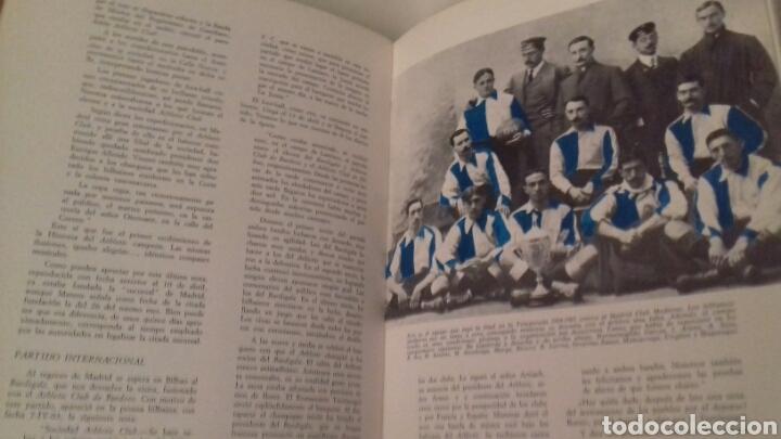 Coleccionismo deportivo: HISTORIA DEL ATHLETIC CLUB DE BILBAO 1969 Gran Enciclopedia Vasca Retama Editor Grandes del Futbol - Foto 6 - 85564135