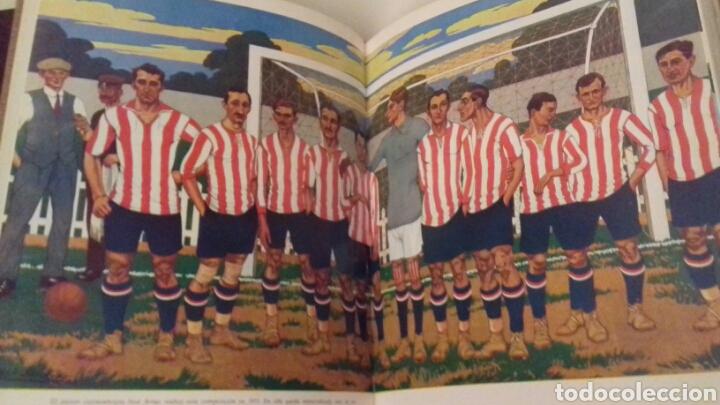 Coleccionismo deportivo: HISTORIA DEL ATHLETIC CLUB DE BILBAO 1969 Gran Enciclopedia Vasca Retama Editor Grandes del Futbol - Foto 7 - 85564135