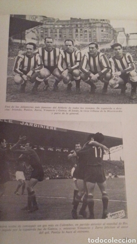 Coleccionismo deportivo: HISTORIA DEL ATHLETIC CLUB DE BILBAO 1969 Gran Enciclopedia Vasca Retama Editor Grandes del Futbol - Foto 15 - 85564135