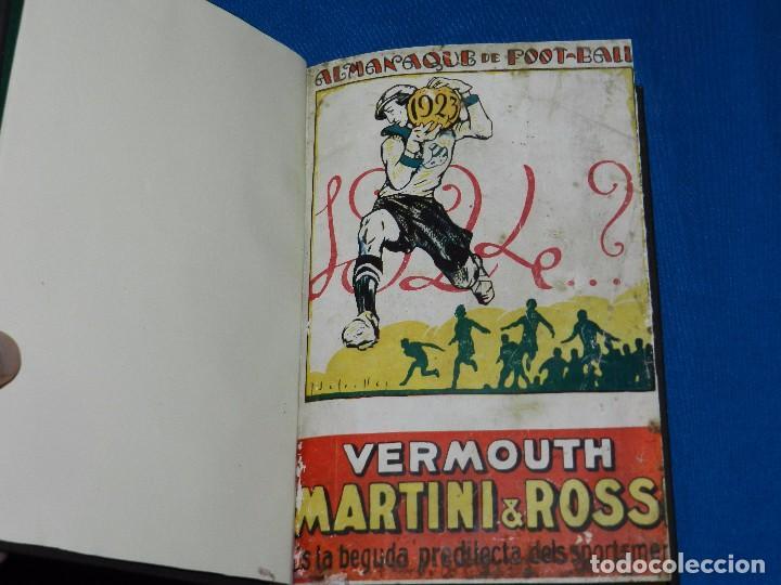 (M) ALMANAQUE DE FOOT-BALL 1923 - 1924 ( FUTBOL ) POR PUIG DE BACARDI Y EDUARDO FELIU , ILUSTRADO (Coleccionismo Deportivo - Libros de Fútbol)
