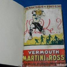 Coleccionismo deportivo: (M) ALMANAQUE DE FOOT-BALL 1923 - 1924 ( FUTBOL ) POR PUIG DE BACARDI Y EDUARDO FELIU , ILUSTRADO. Lote 86218808