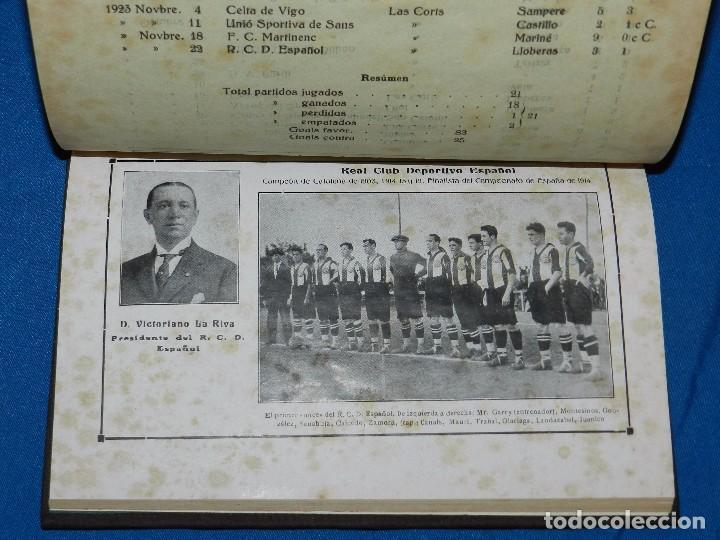 Coleccionismo deportivo: (M) ALMANAQUE DE FOOT-BALL 1923 - 1924 ( FUTBOL ) POR PUIG DE BACARDI Y EDUARDO FELIU , ILUSTRADO - Foto 3 - 86218808
