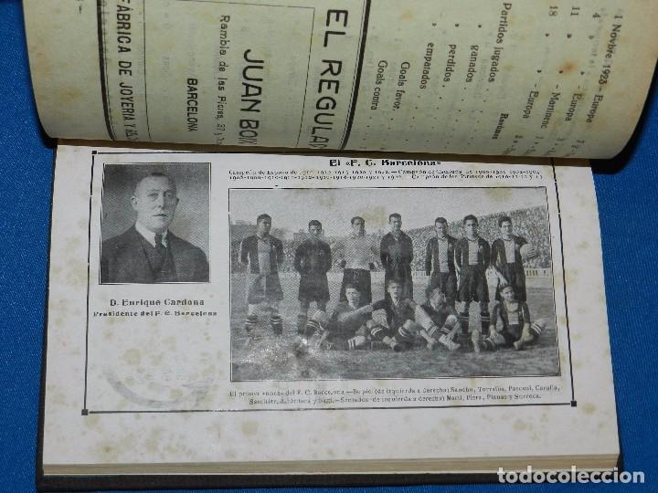 Coleccionismo deportivo: (M) ALMANAQUE DE FOOT-BALL 1923 - 1924 ( FUTBOL ) POR PUIG DE BACARDI Y EDUARDO FELIU , ILUSTRADO - Foto 4 - 86218808
