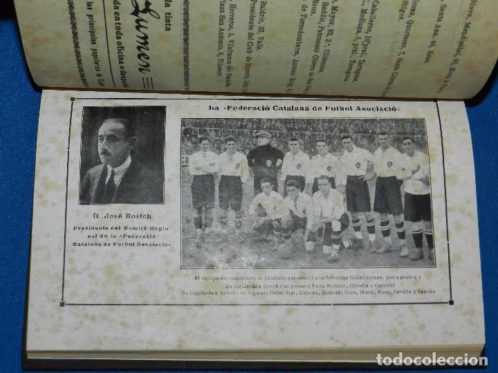 Coleccionismo deportivo: (M) ALMANAQUE DE FOOT-BALL 1923 - 1924 ( FUTBOL ) POR PUIG DE BACARDI Y EDUARDO FELIU , ILUSTRADO - Foto 5 - 86218808