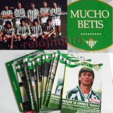 Coleccionismo deportivo: MUCHO BETIS LIBRO EL CORREO DE ANDALUCÍA REAL BALOMPIÉ FÚTBOL DEPORTE HISTORIA JUGADORES FOTOS DATOS. Lote 86292268