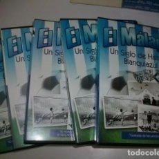 Coleccionismo deportivo: EL C.D. MÁLAGA UN SIGLO DE HISTORIA BLANQUIAZUL. Lote 86503620
